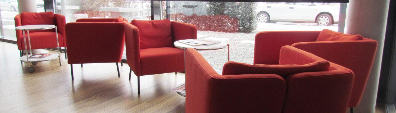 Loungebereich bei unseren Tagungen.